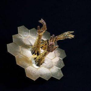 james webb space telescope art sculpture